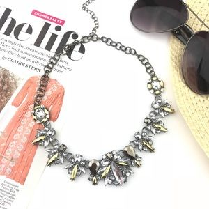 """""""Lexi"""" Crystal Statement Necklace"""